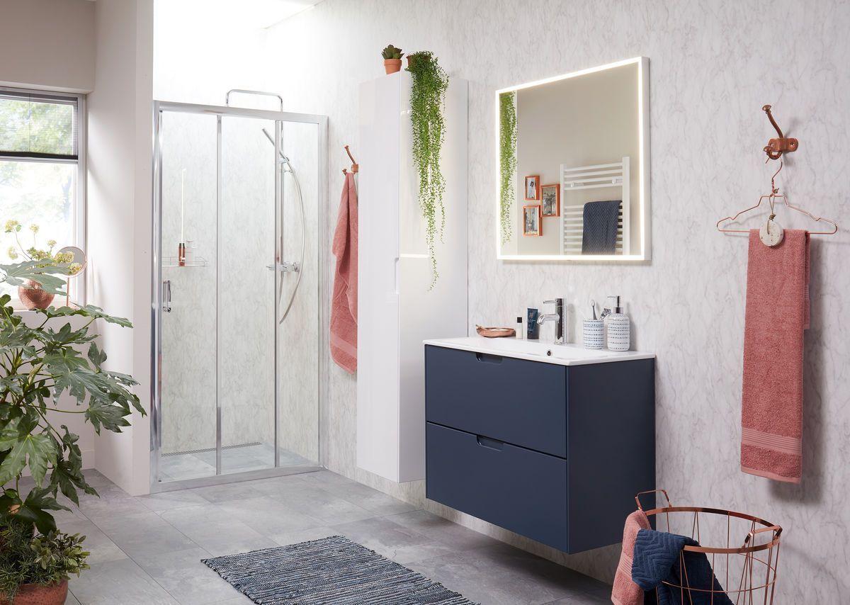 Kolomkast Badkamer Hout : Badkamermeubel voor kleine badkamers