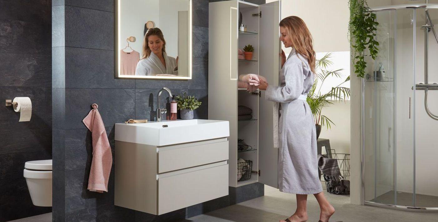 Kolomkast Badkamer Hout : Alles over badkamerkasten