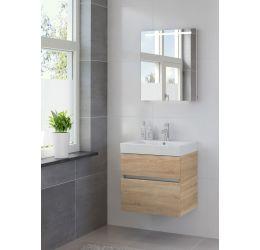Ensemble de meubles de salle de bains Nano miroir 60 bardolino