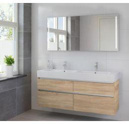 Ensemble de meubles de salle de bains Passo miroir 150 bardolino