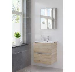 Ensemble de meubles de salle de bains Miko miroir 60 bardolino