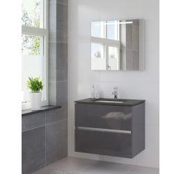 Ensemble de meubles de salle de bains Miko 70cm lavabo granit