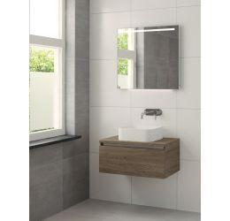 Ensemble de meubles de salle de bains Faro 75cm