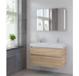 Ensemble de meubles de salle de bains Pinto 100cm