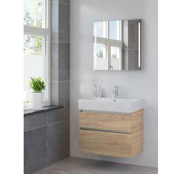Ensemble de meubles de salle de bains Passo miroir 75 bardolino