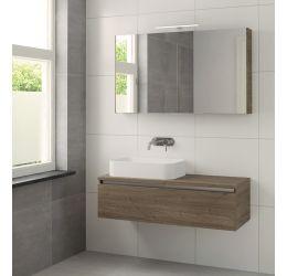Ensemble de meubles de salle de bains Faro 120cm