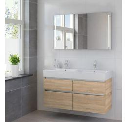 Ensemble de meubles de salle de bains Passo miroir 120 bardolino