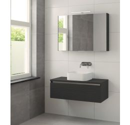 Ensemble de meubles de salle de bains Faro 100cm