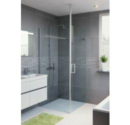 Porte pivotante Lector de douche à l'italienne
