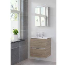 Ensemble de meubles de salle de bains Miko armoire à glace 60 tortona