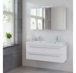 Ensemble de meubles de salle de bains Bando 120cm lavabo double