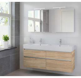 Ensemble de meubles de salle de bains Passo armoire à glace 150 bardolino