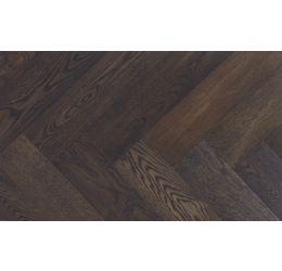 Chevrons en chêne rustique 13cm - Cacao