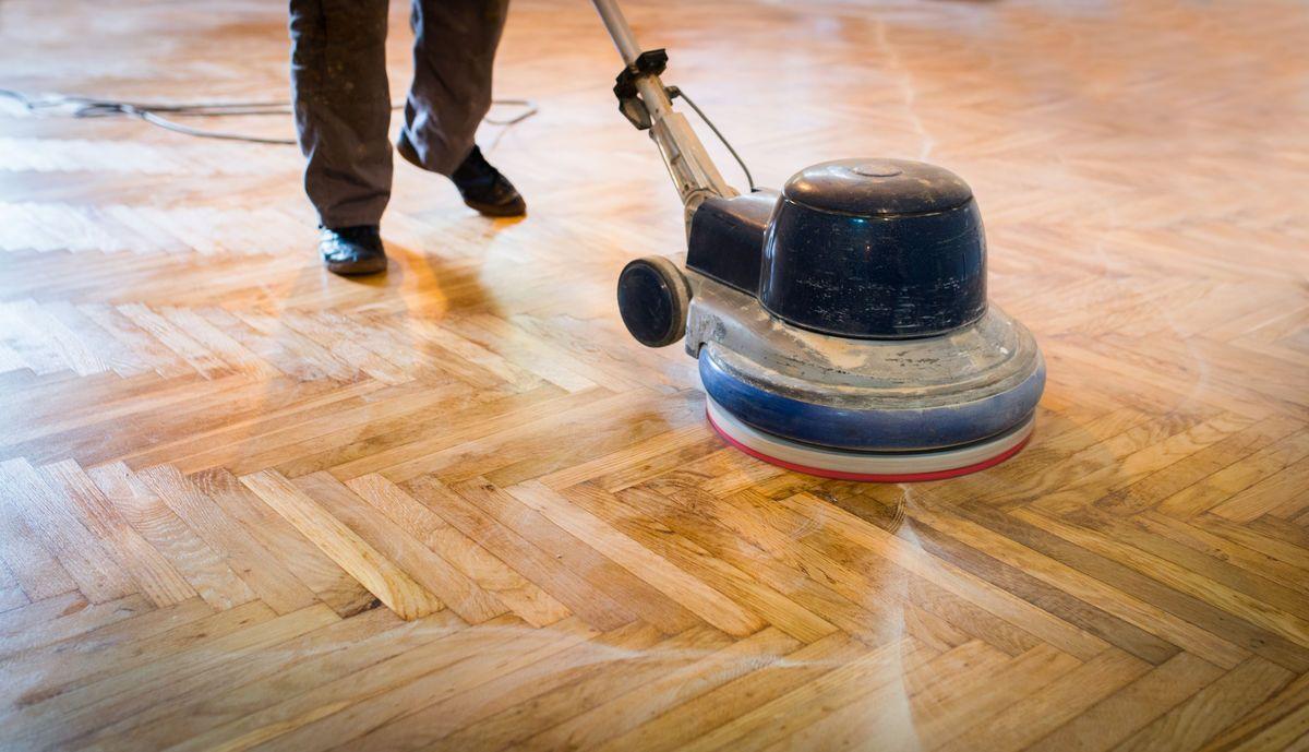 Eiken Vloer Schuren : Een eiken vloer schuren