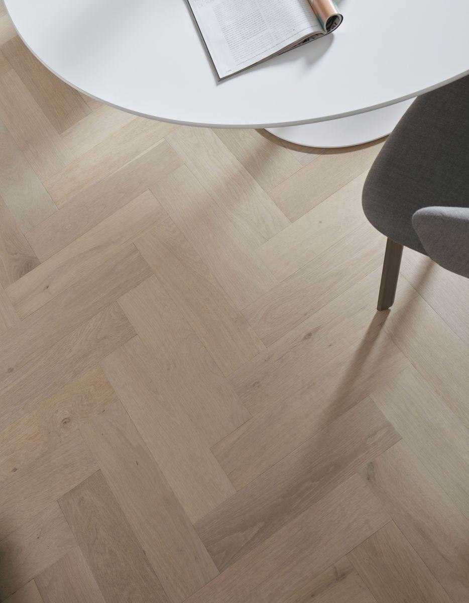 Houten vloer keuken leggen