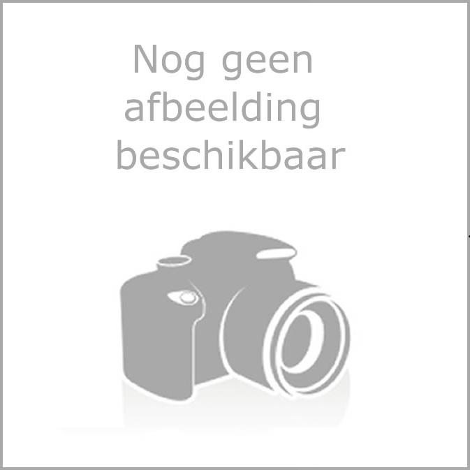S700 Plissehordeur afdek sluiting wit 2400mm