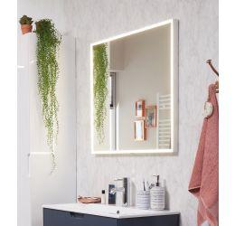 SPIEGELS met LED kader rondom incl. spiegelverwarming